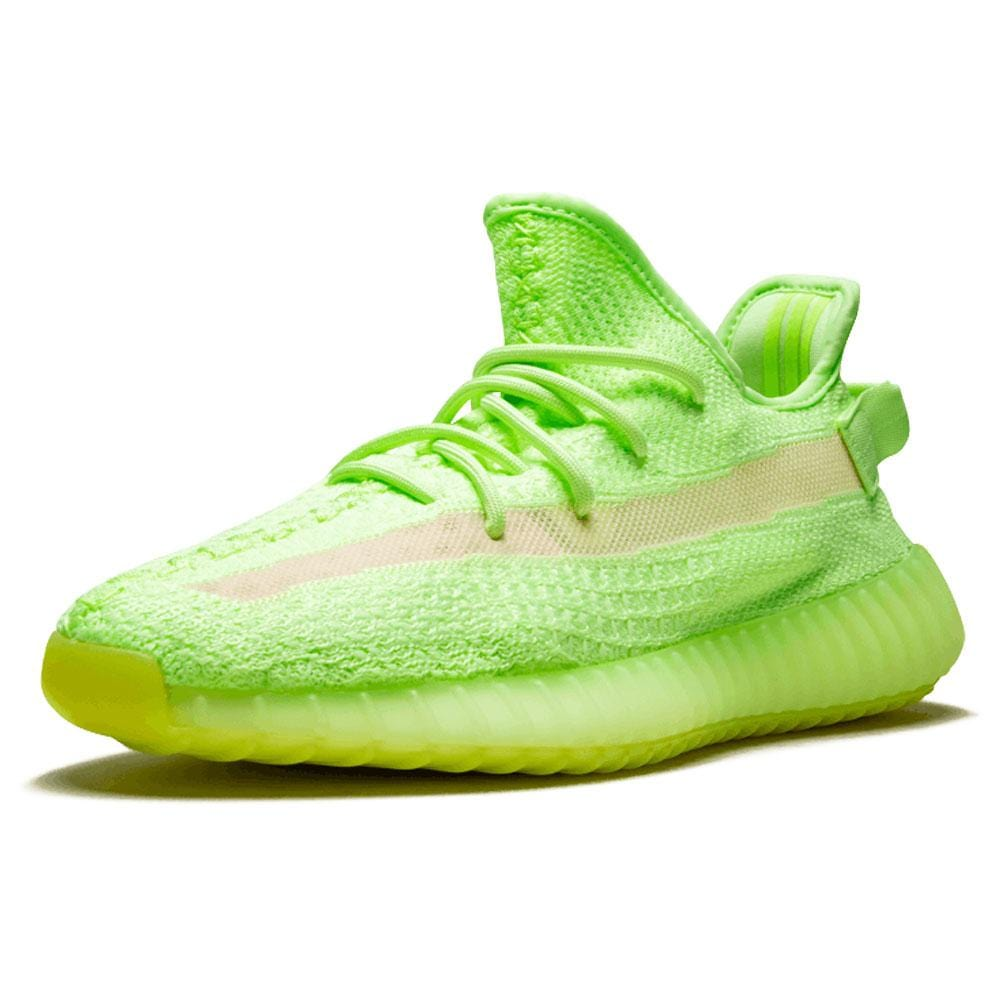 Yeezy Boost 350 V2 'Glow In The Dark' Green - Kick Game