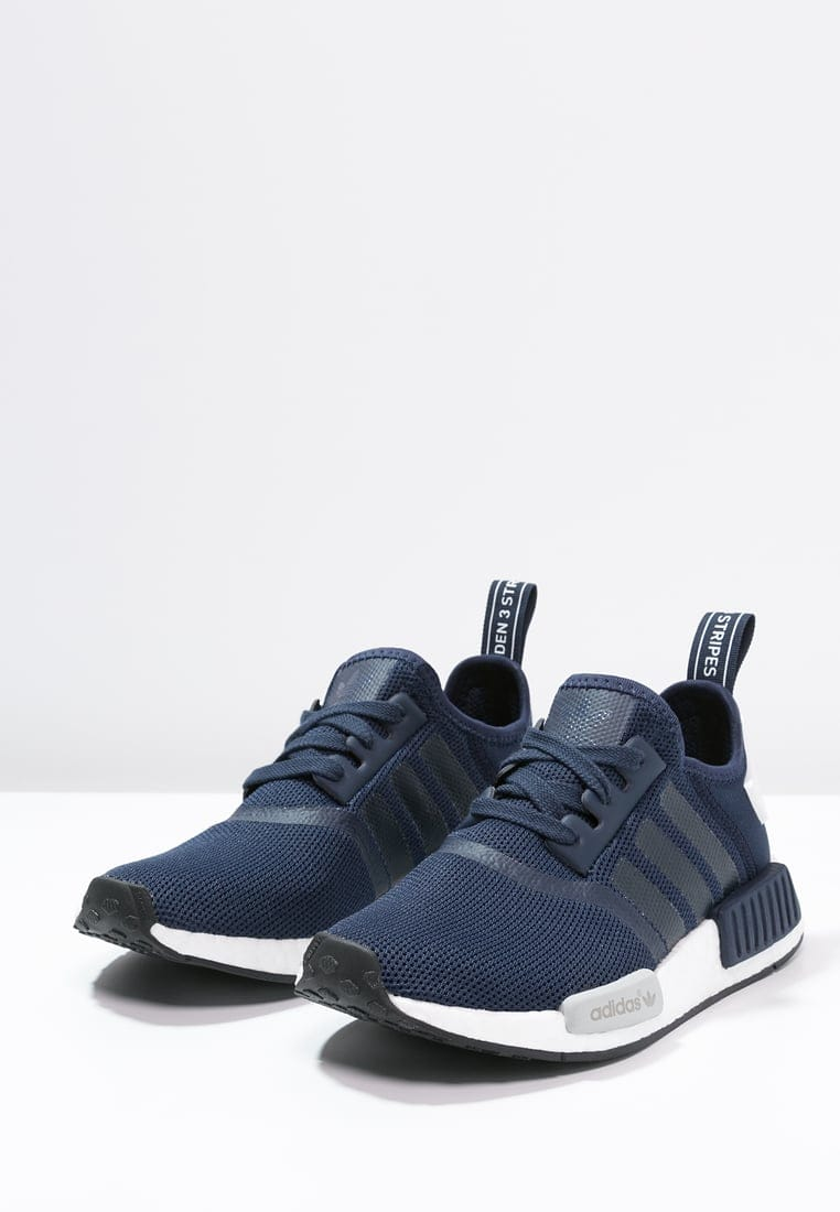 adidas NMD RUNNER collegiate navy-white - Kick Game