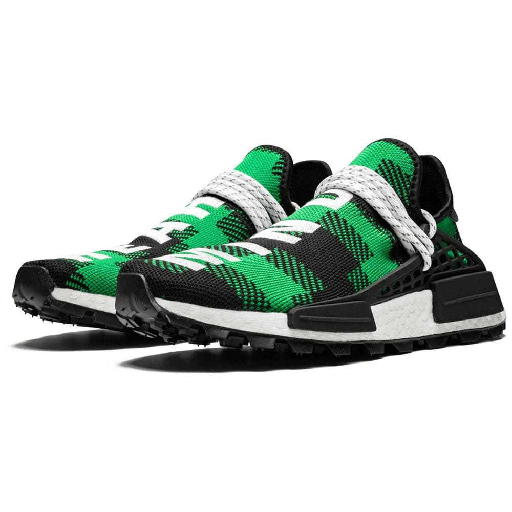 Pharrell x Billionaire Boys Club x NMD Human Race Trail 'Green Plaid' - Kick Game