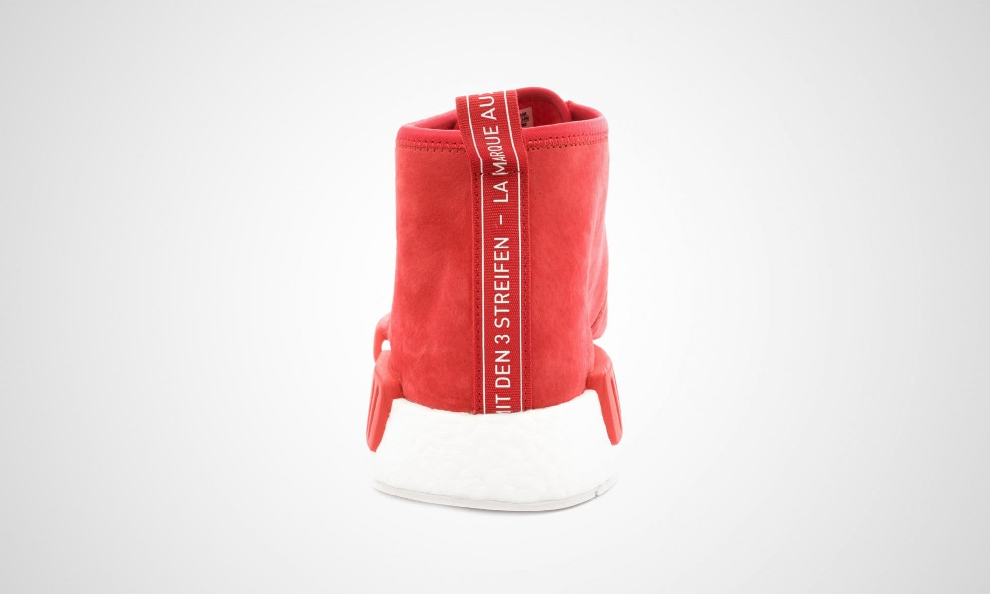 ADIDAS ORIGINALS NMD C1 CHUKKA BOOST (RED - WHITE) - Kick Game