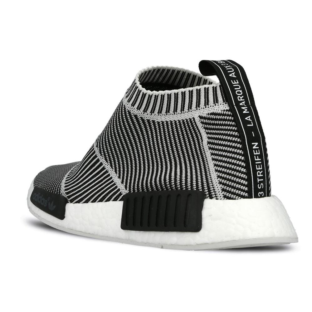 best sneakers 97151 da5b6 ADIDAS NMD CITY SOCK PRIMEKNIT Core Black & Vintage White