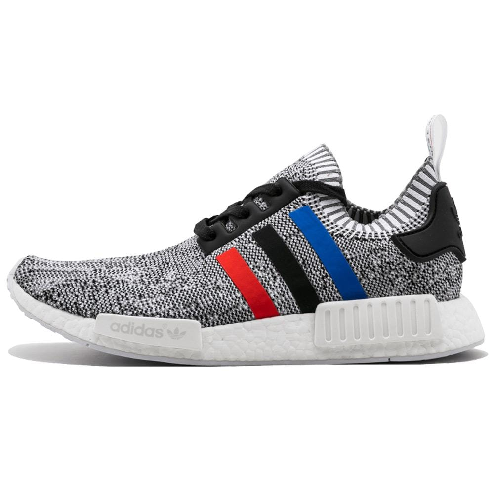 Adidas NMD_R1 Primeknit Tricolor White - Kick Game