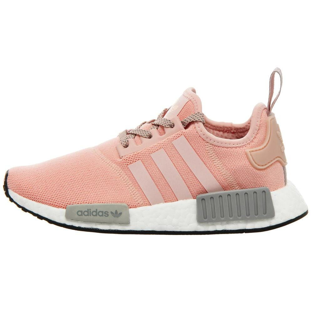 Adidas NMD R1 Pink Light Grey Trainer Pink with bright and