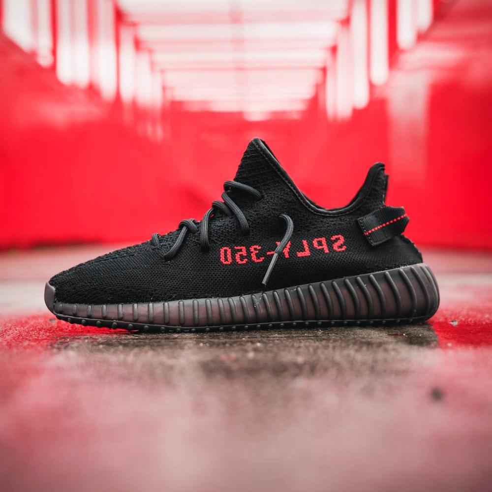 Adidas Originals Yeezy Boost 350 V2 Core Black-Red - Kick Game
