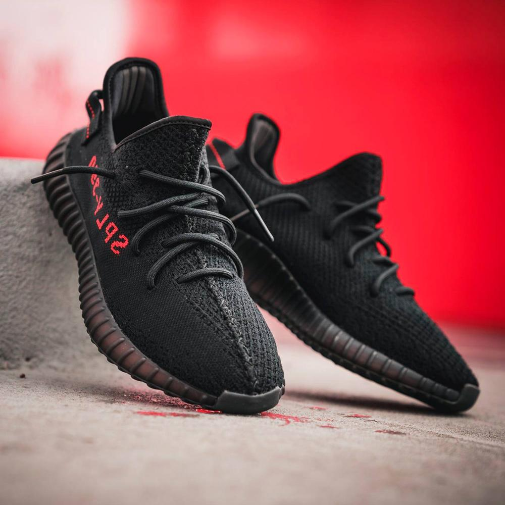 adidas yeezy boost black red