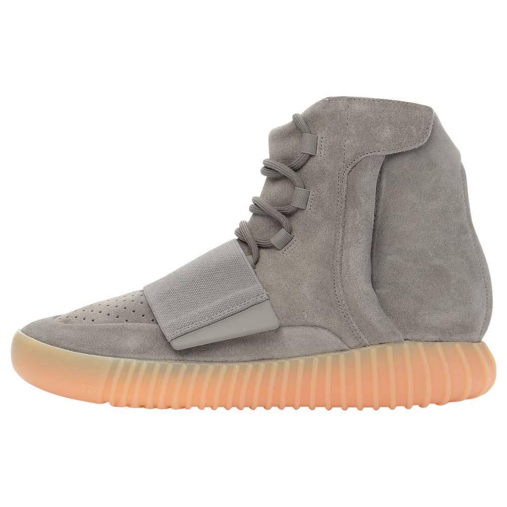 shades of in stock half price Adidas Originals Yeezy 750 Boost Light Grey-Gum