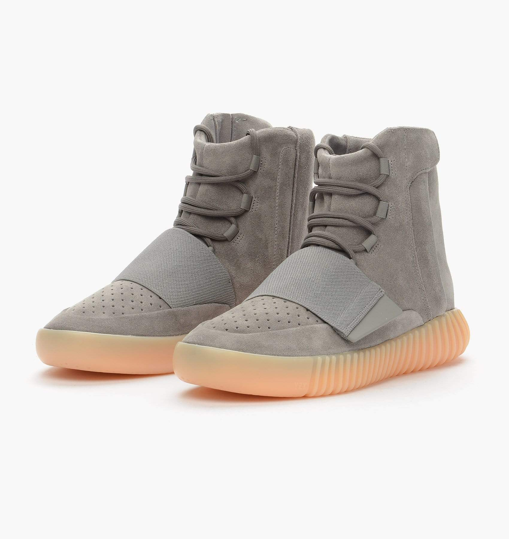 Adidas Originals Yeezy 750 Boost Light Grey-Gum - Kick Game