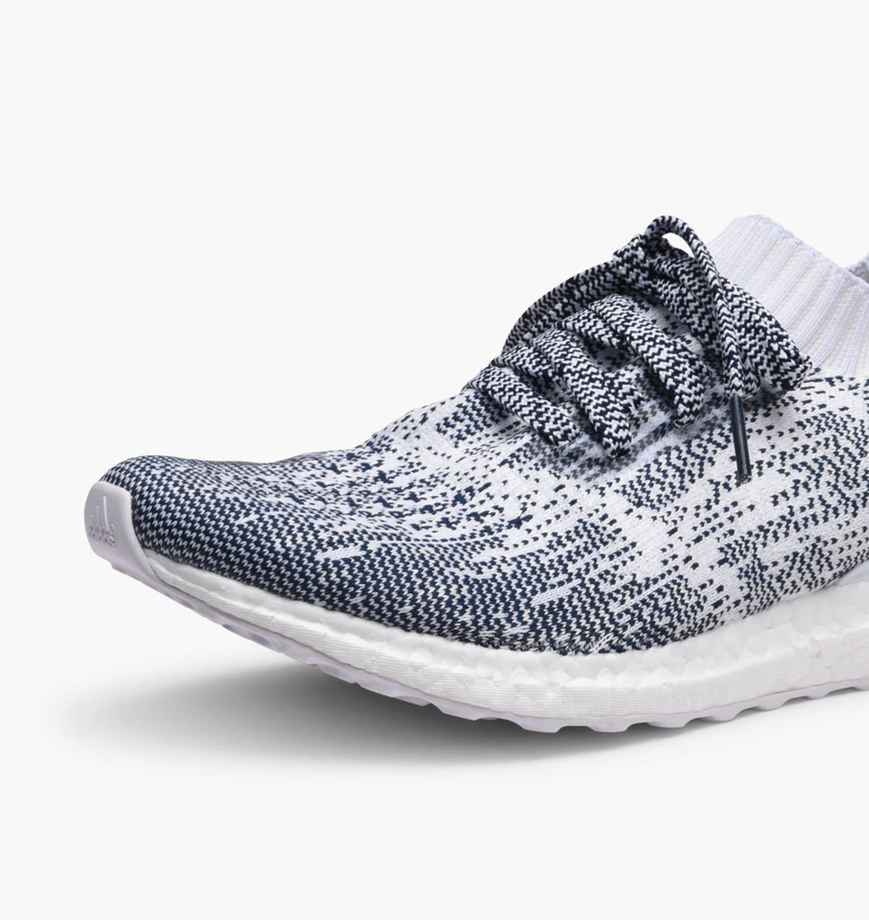 On Feet Adidas Ultra Boost Uncaged White Navy