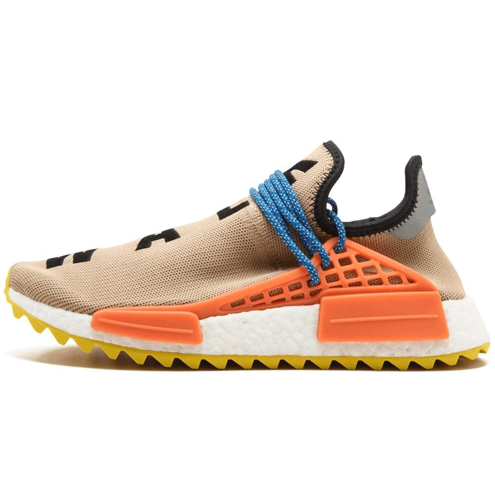 separation shoes c010e 01864 Pharrell Williams x adidas NMD Human Race Trail Pale Nude