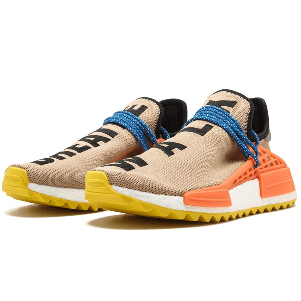 separation shoes 6c273 ed6d7 Pharrell Williams x adidas NMD Human Race Trail Pale Nude