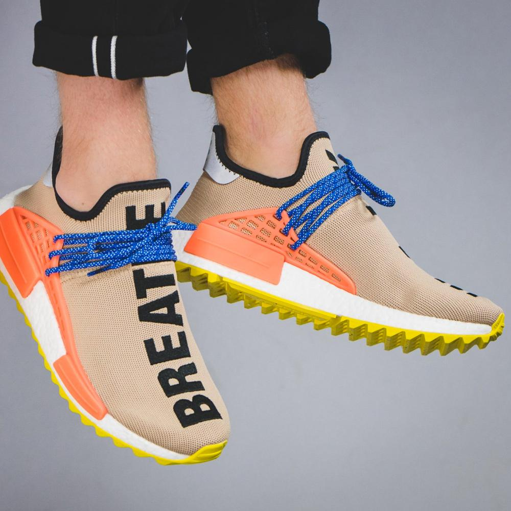 separation shoes 2fb37 d91c9 Pharrell Williams x adidas NMD Human Race Trail Pale Nude