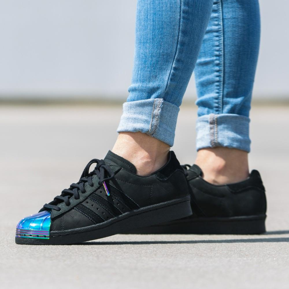 adidas Originals Superstar 80s Metal Toe W (black-multi) - Kick Game
