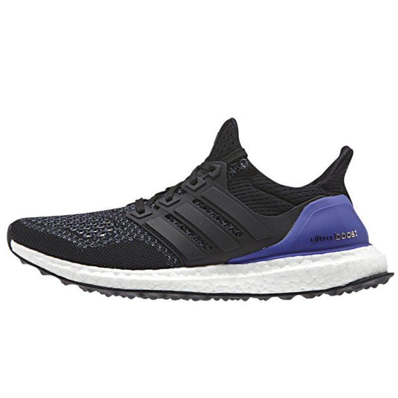 adidas Ultra Boost Running Shoes - Black-Gold - Kick Game
