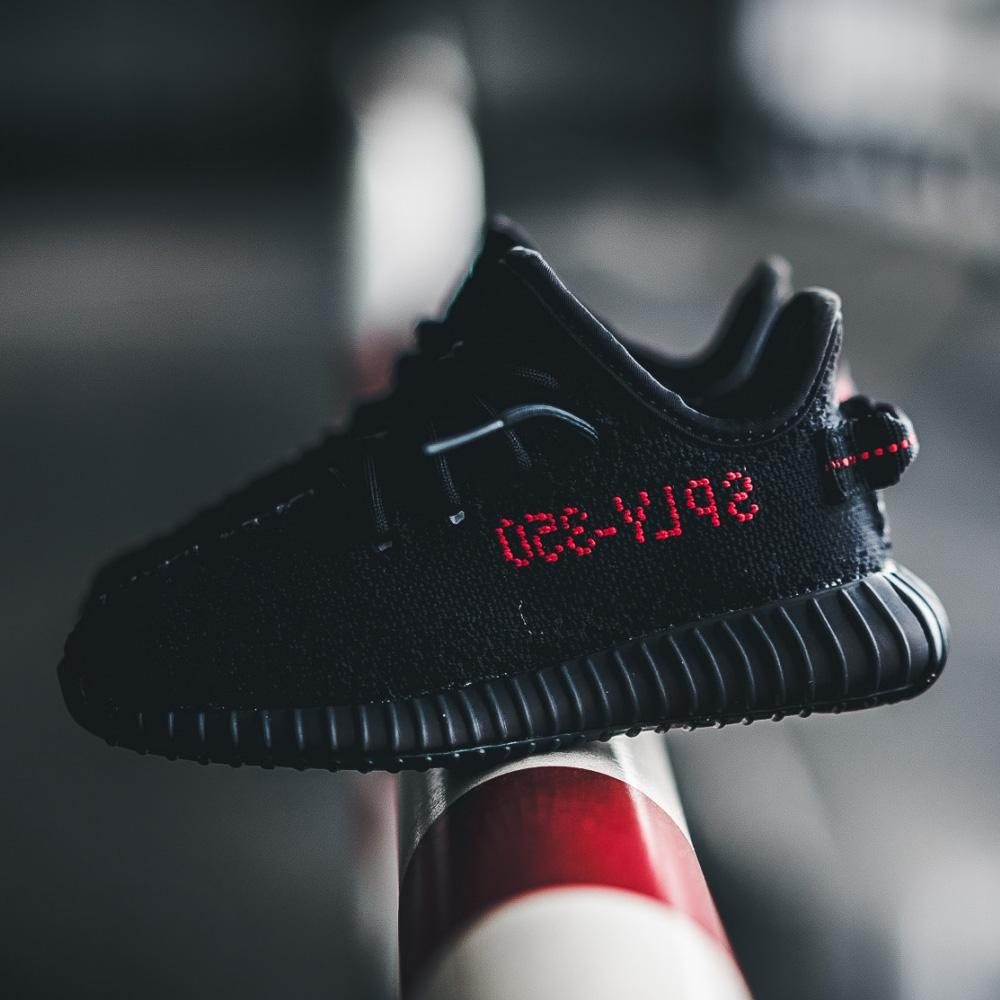 Adidas Yeezy Boost 350 V2 Infant Core Black-Red - Kick Game
