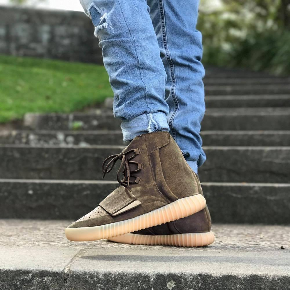 best online promo code vast selection Adidas Yeezy Boost 750 Light Brown