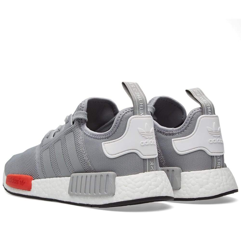 ADIDAS NMD RUNNER JUNIOR Light Onix & White - Kick Game