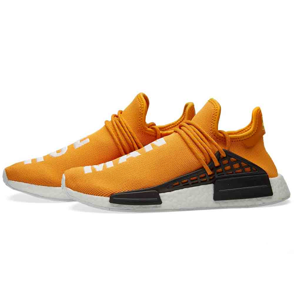 new product af981 6ea65 PHARRELL WILLIAMS X ADIDAS NMD HUMAN RACE TANGERINE