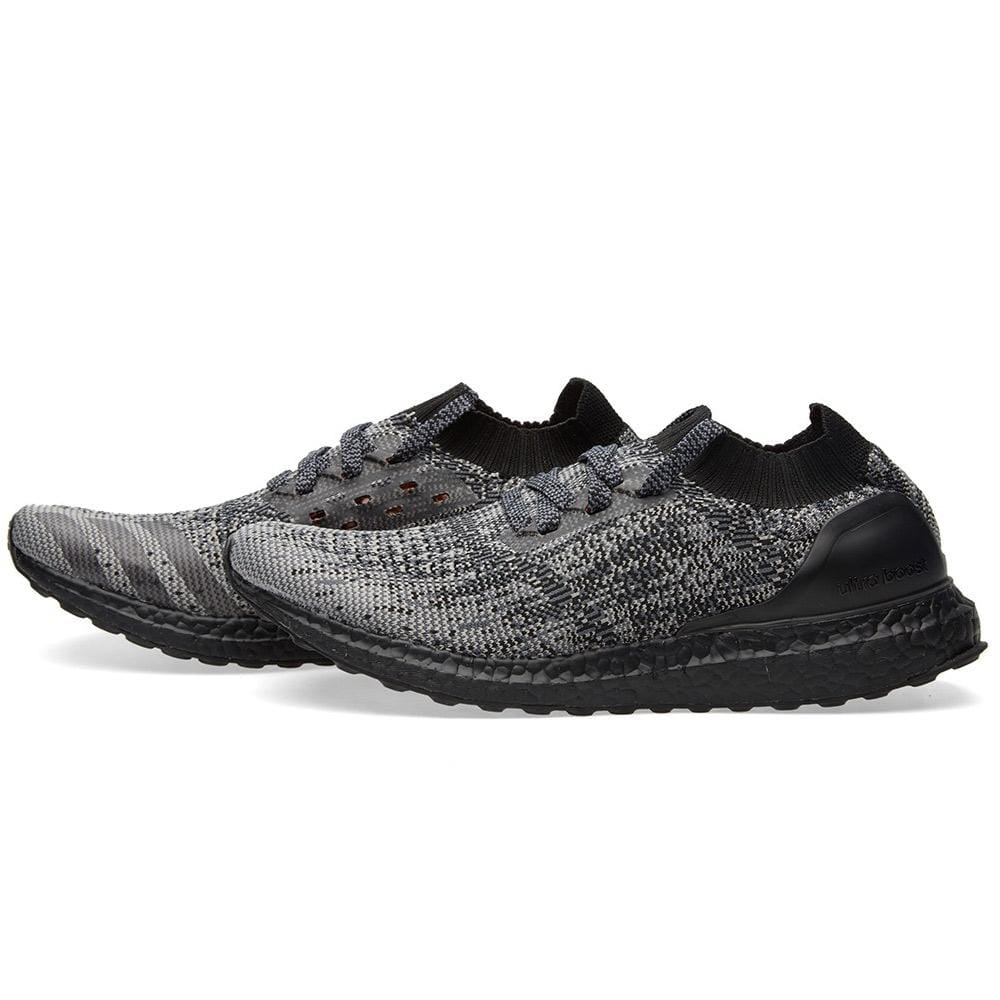 ADIDAS ULTRA BOOST UNCAGED LTD. Core Black & Solid Grey - Kick Game