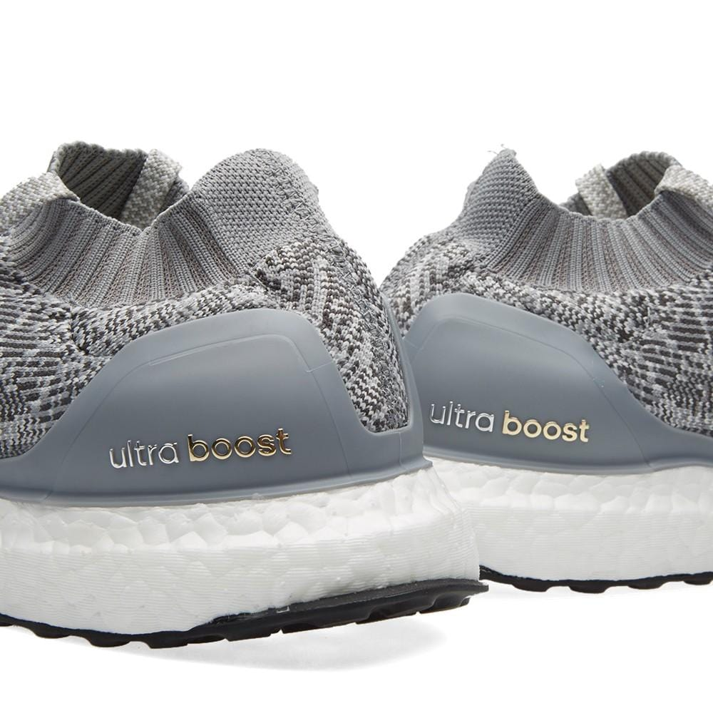 ADIDAS ULTRA BOOST UNCAGED Clear Grey & Solid Grey - Kick Game