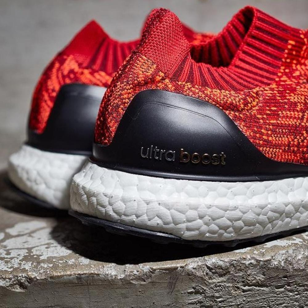 ADIDAS ULTRA BOOST UNCAGED Scarlet, Solar Red & Black - Kick Game