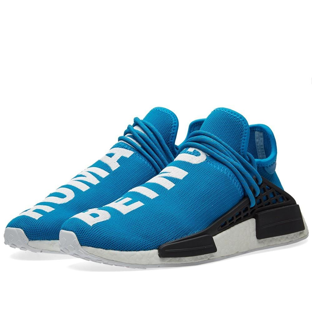 new style 97263 224a7 PHARRELL WILLIAMS X ADIDAS HU HUMAN RACE NMD - BLUE