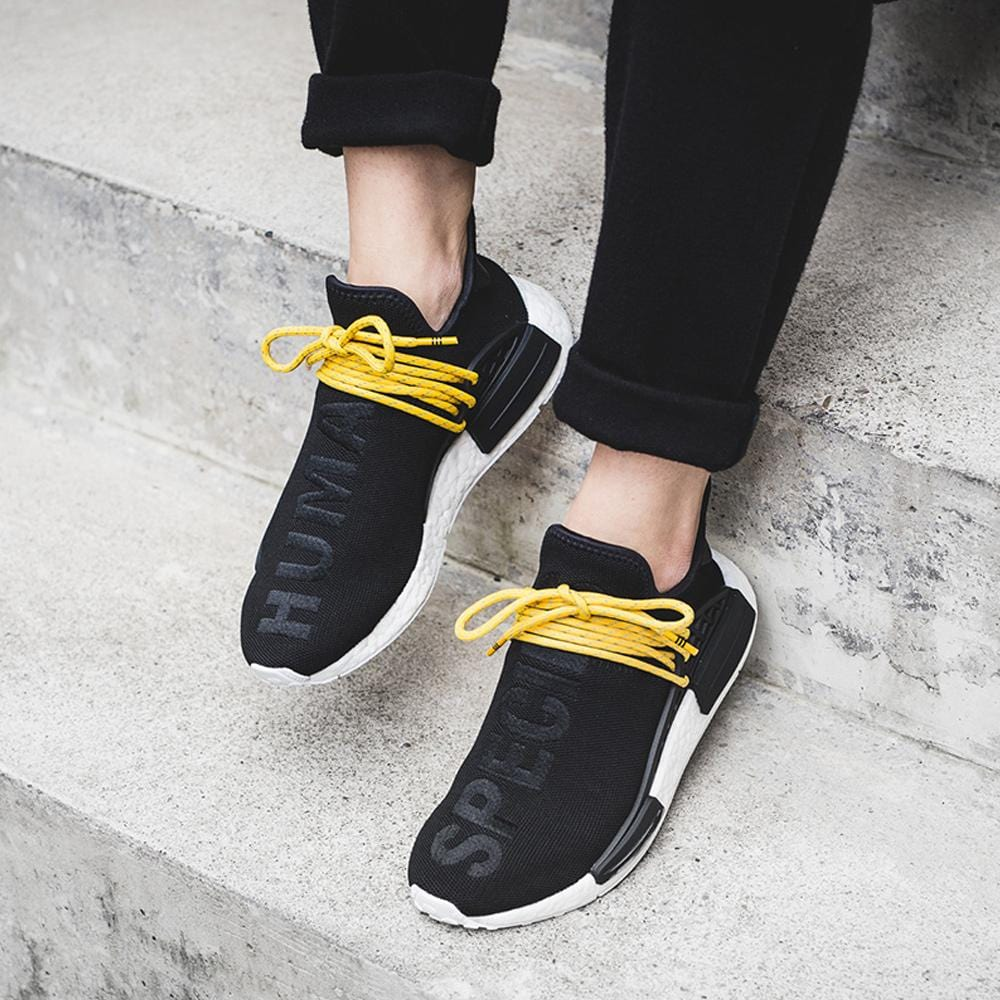new product 480a0 fdcc8 Pharrell Williams x adidas Originals NMD Human Race Black