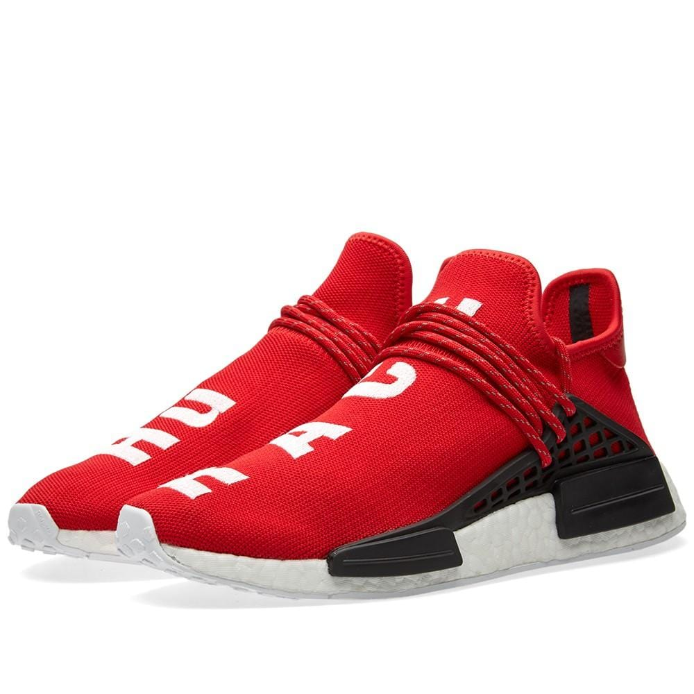 new products 9511a ca0c2 Pharrell Williams x adidas NMD HU Scarlet