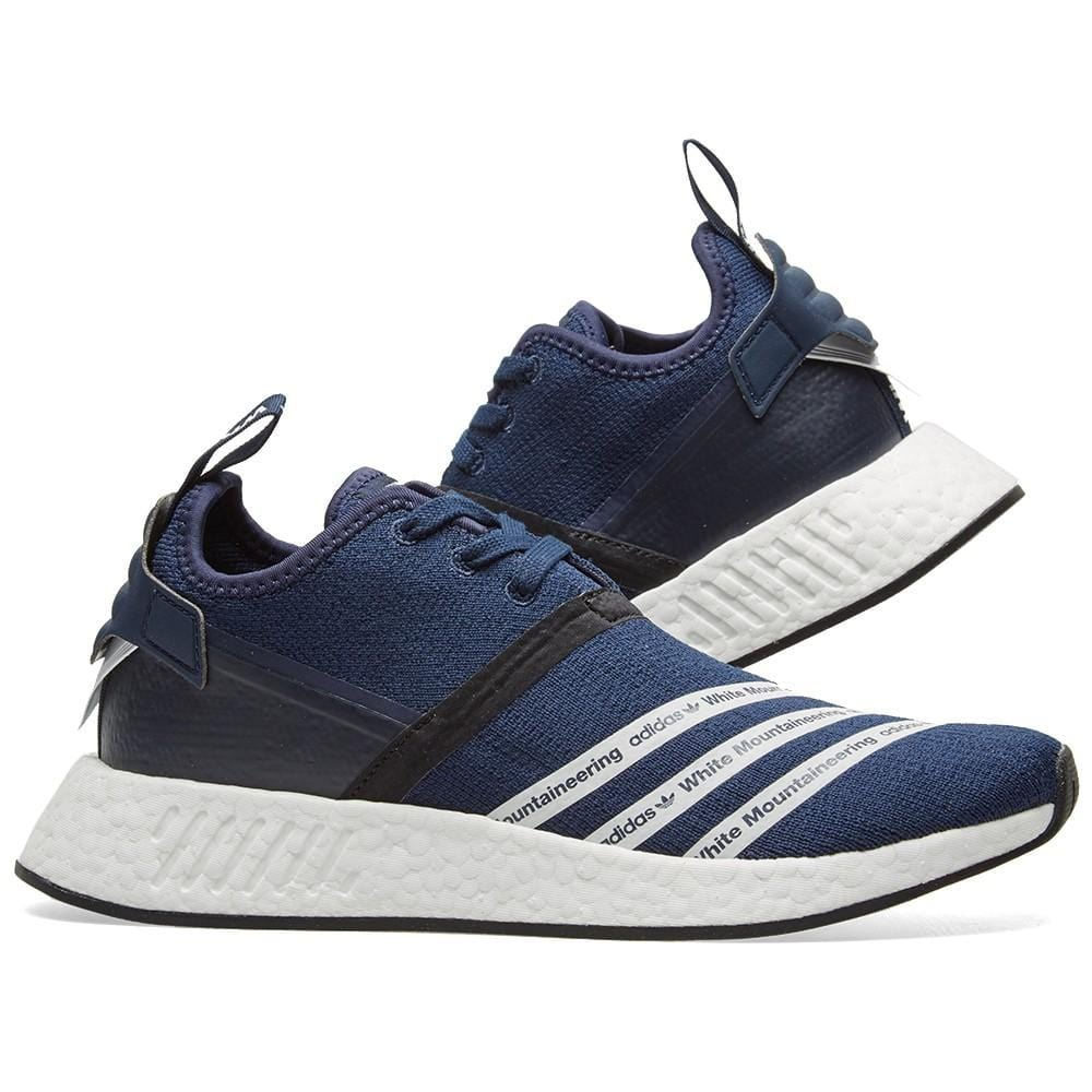Adidas Originals x White Mountaineering NMD_R2 PK Collegiate Navy - Kick Game