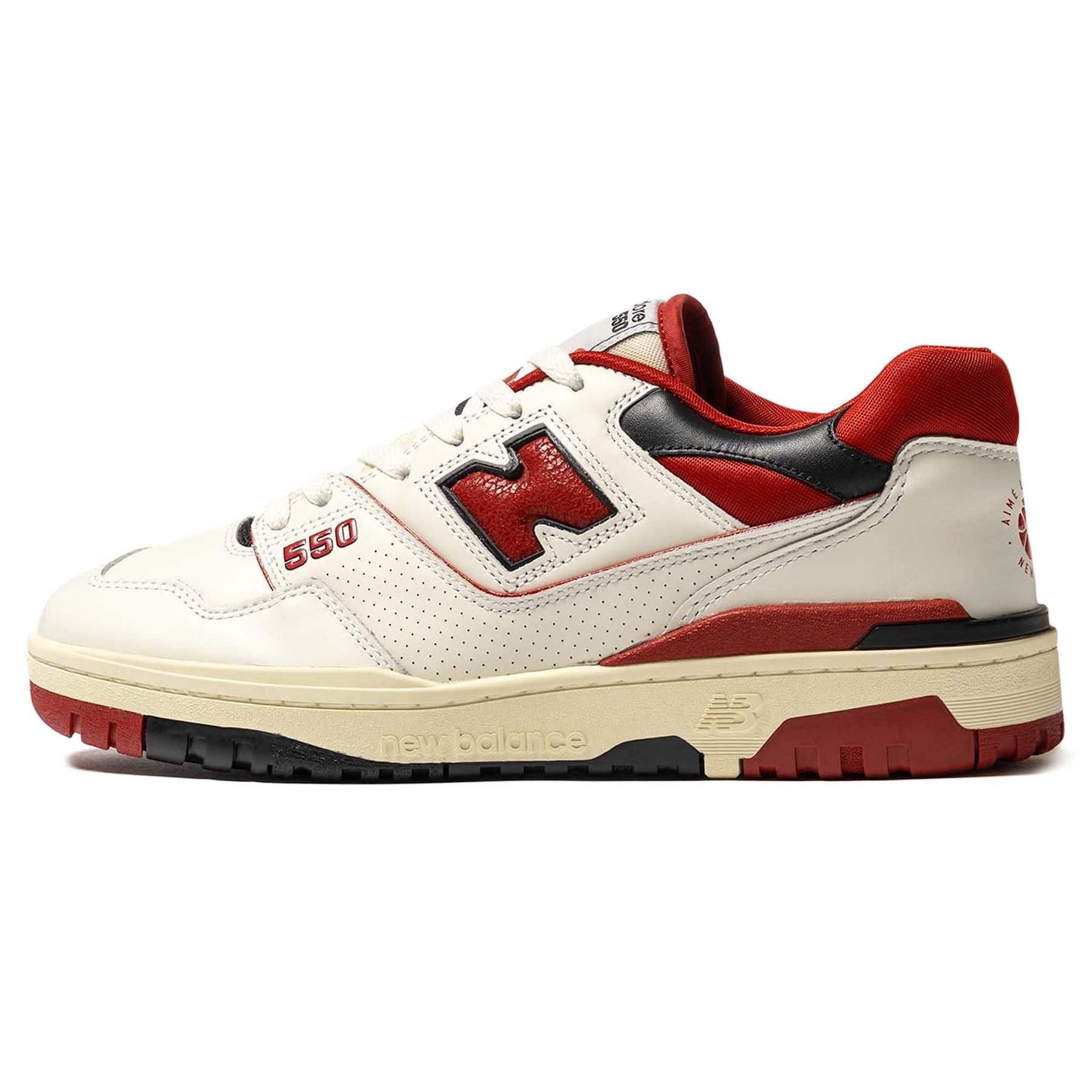 red new balance trainers size 6