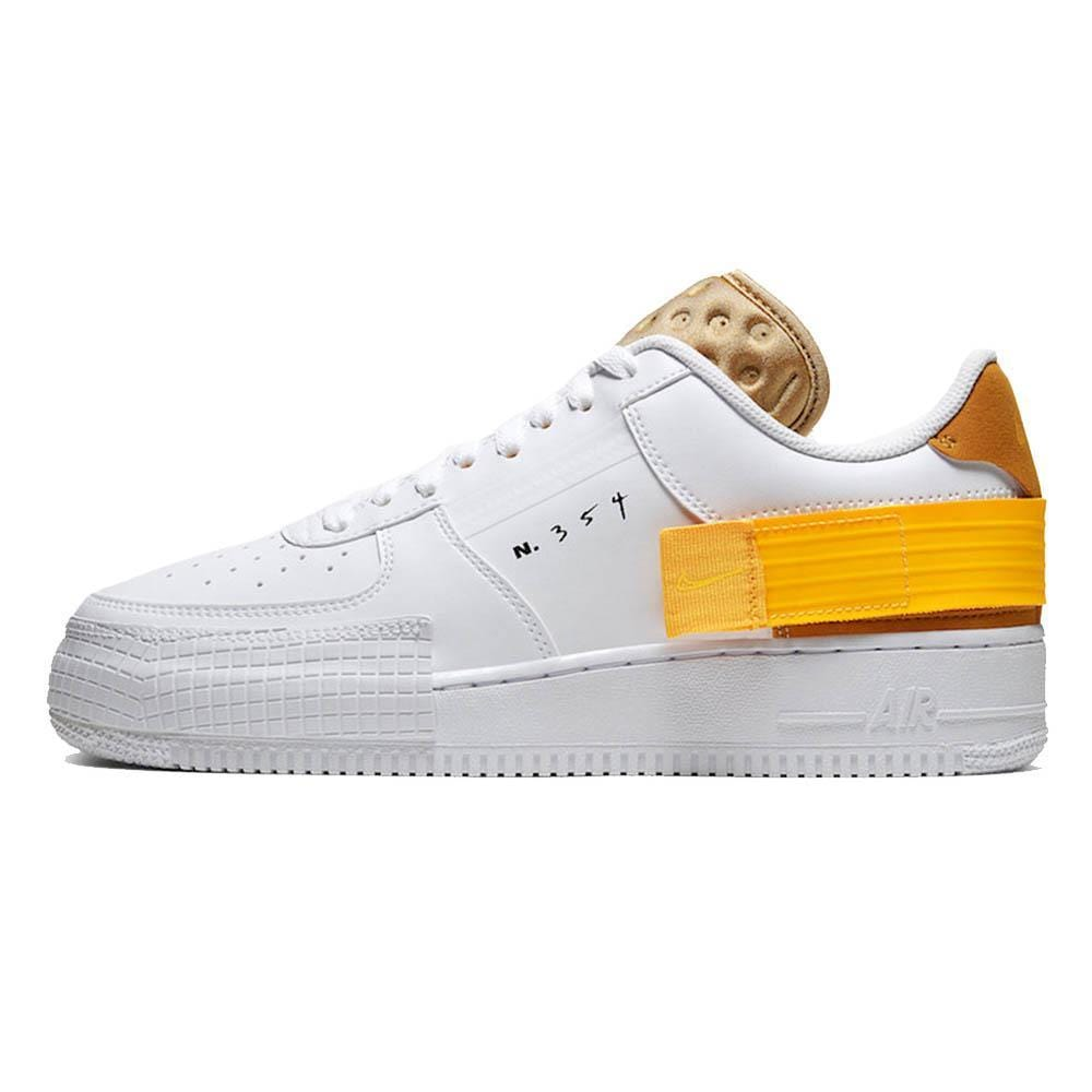Nike Air Force 1 Type White Gold - Kick Game