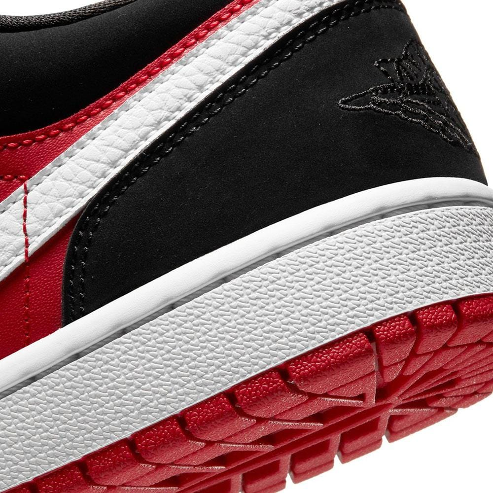 Air Jordan 1 Wmns Low 'Gym Red Black' - Kick Game