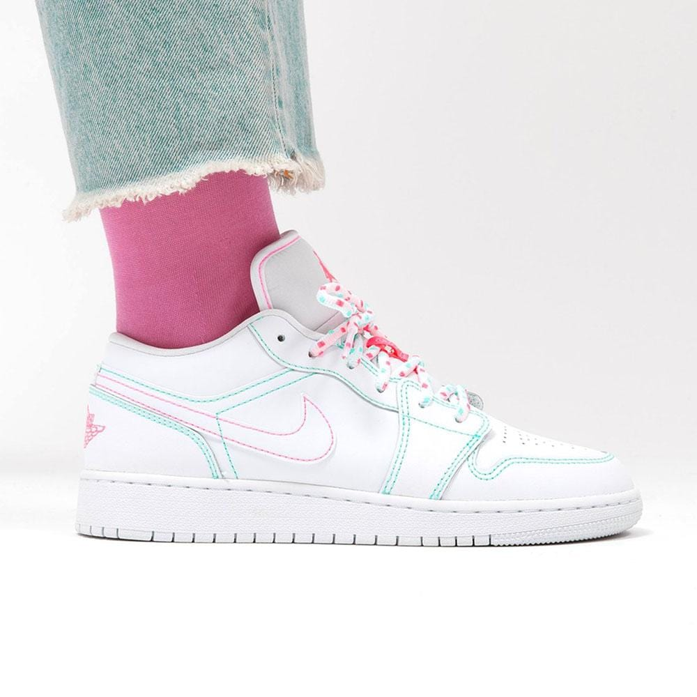 Air Jordan 1 Low Gs Aurora Green Kick Game
