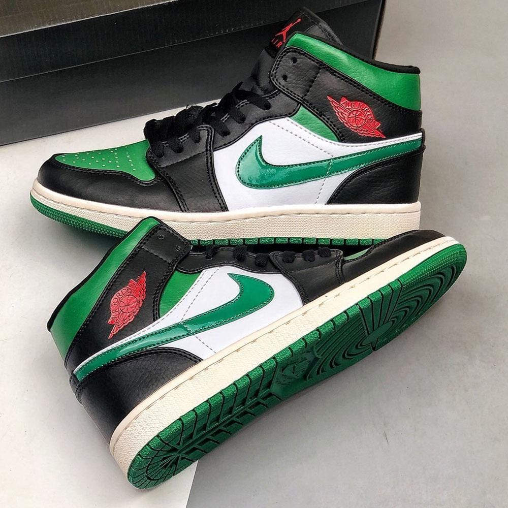 Air Jordan 1 Mid 'Pine Green' - Kick Game
