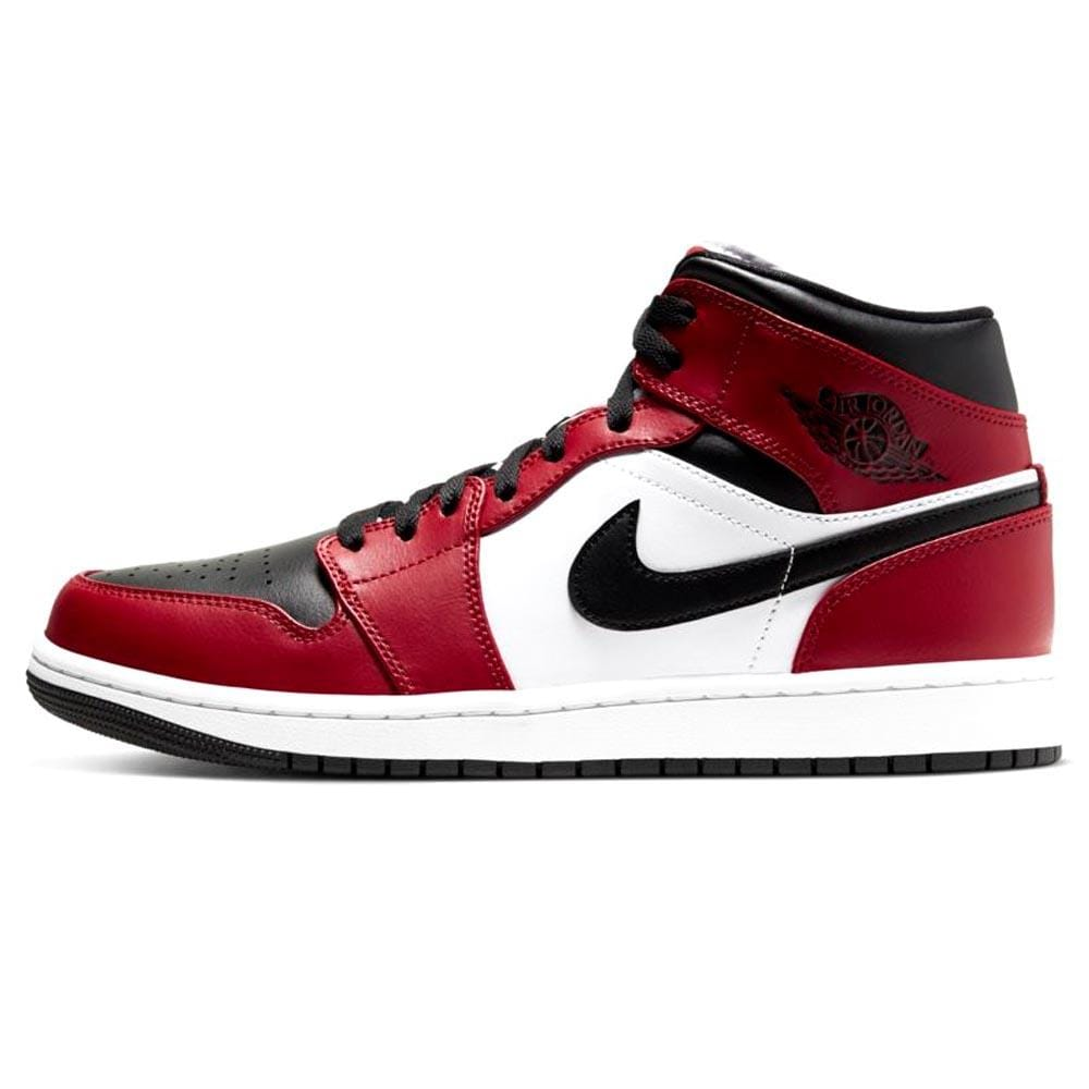 Air Jordan 1 Mid 'Chicago Black Toe' - Kick Game