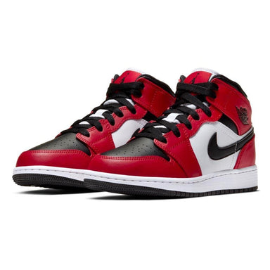 Air Jordan 1 Mid GS 'Chicago Black Toe' - Kick Game