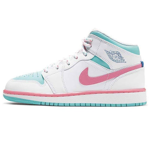 Air Jordan 1 Mid GS 'Digital Pink'