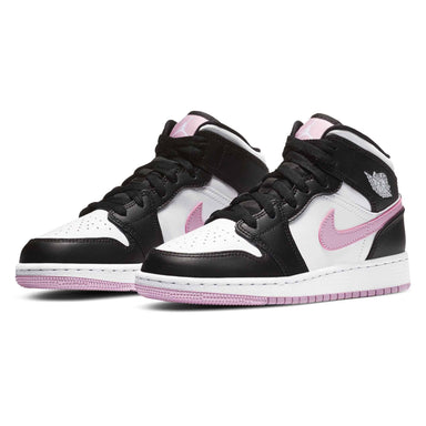 Air Jordan 1 Mid GS 'White Light Arctic Pink' - Kick Game