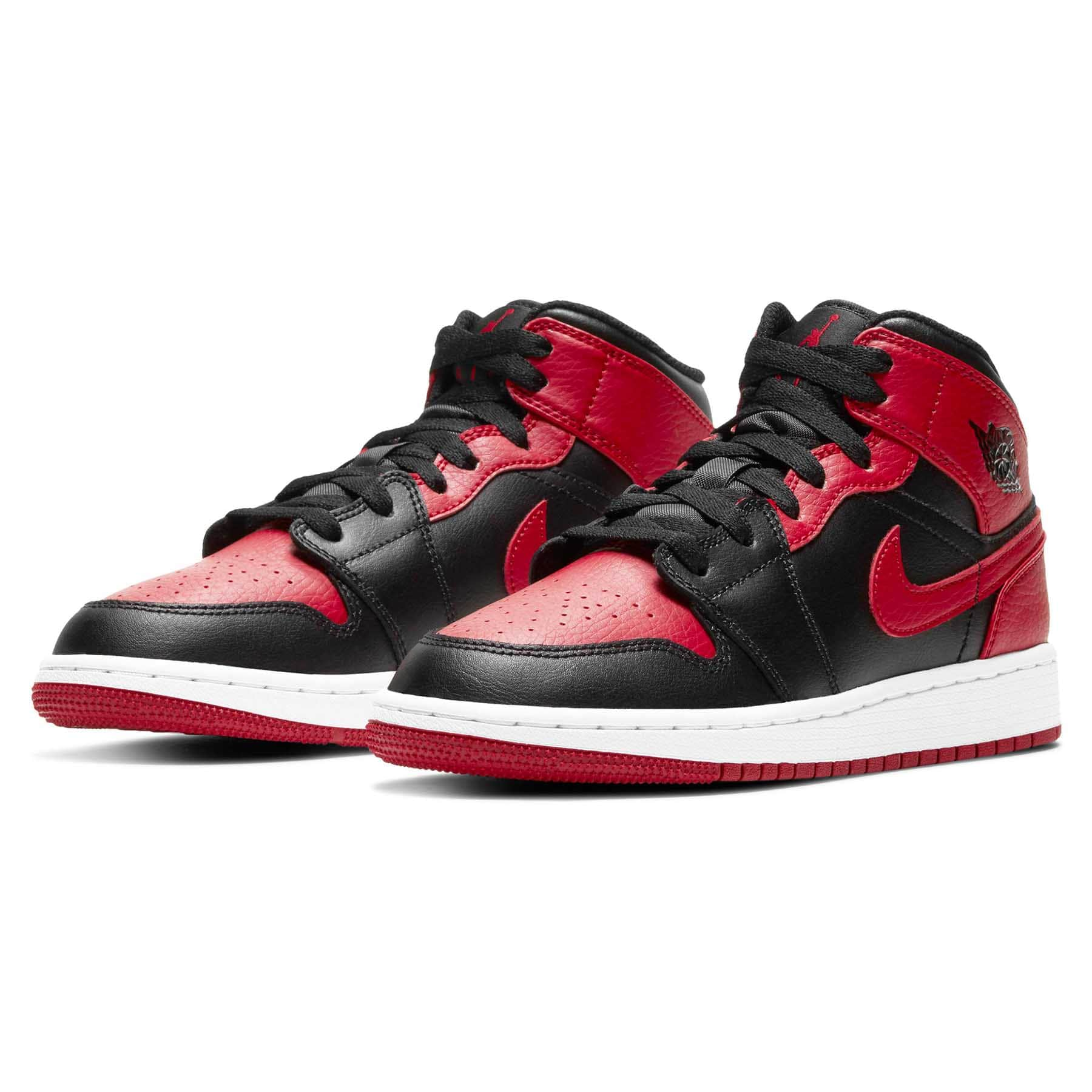 Air Jordan 1 Mid GS 'Banned' - Kick Game