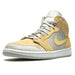 Air Jordan 1 Mid SE Grey Fog Lemon Wash - Kick Game
