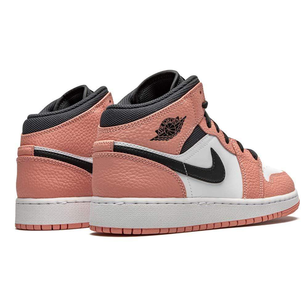 Air Jordan 1 Mid GS 'Pink Quartz' - Kick Game