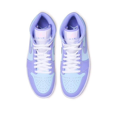 Air Jordan 1 Mid 'Purple Aqua' - Kick Game