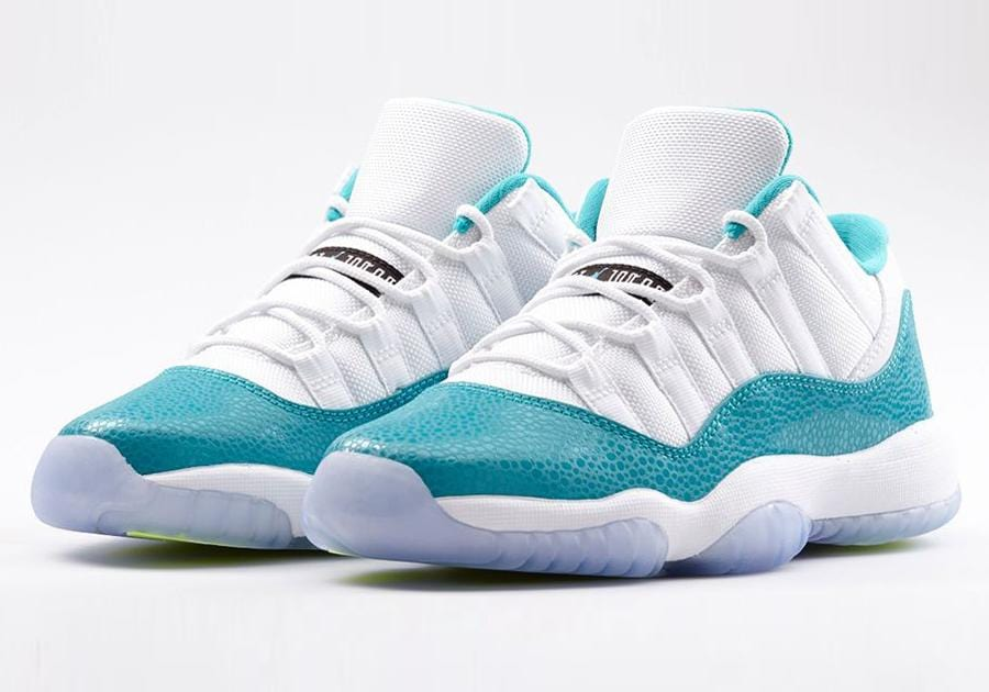 Air Jordan 11 Low GS Aqua Safari - Kick Game