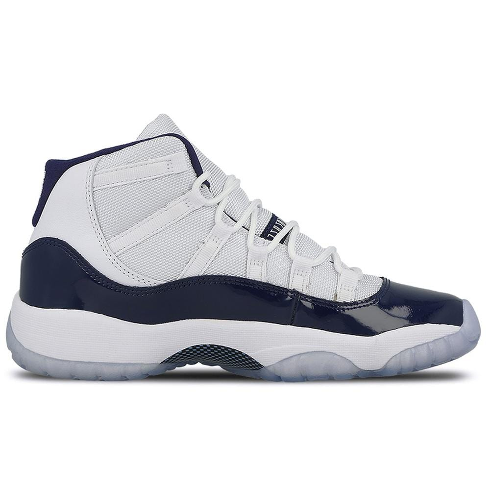 Air Jordan 11 Retro GS White-Midnight Navy  Win like 82 - Kick Game