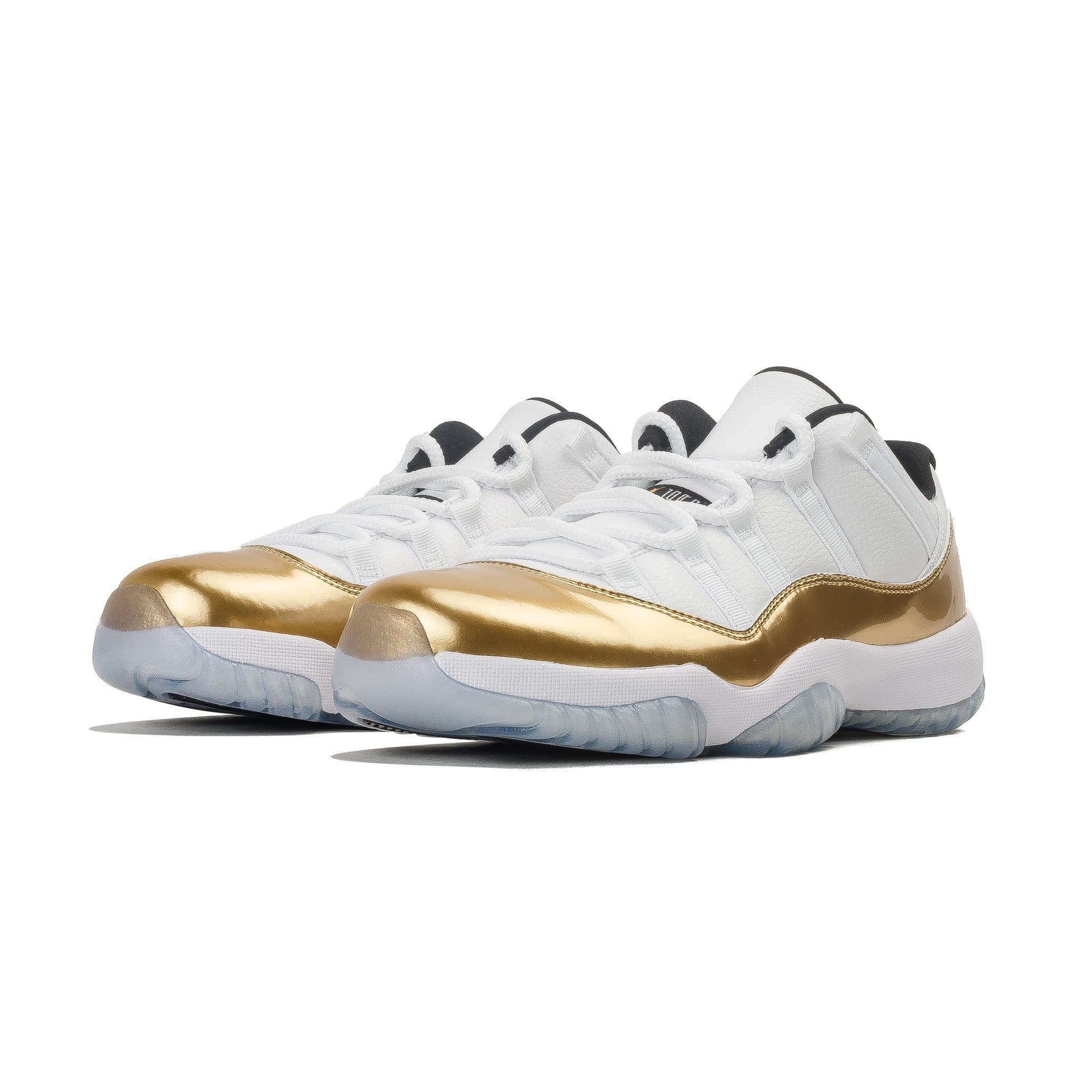 Air Jordan 11 Retro Low White- Metallic Gold - Kick Game