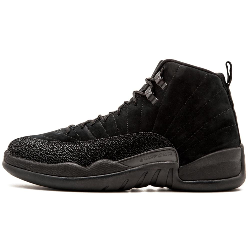 innovative design fe4e3 4945a Air Jordan 12 Retro OVO Black-Metallic Gold