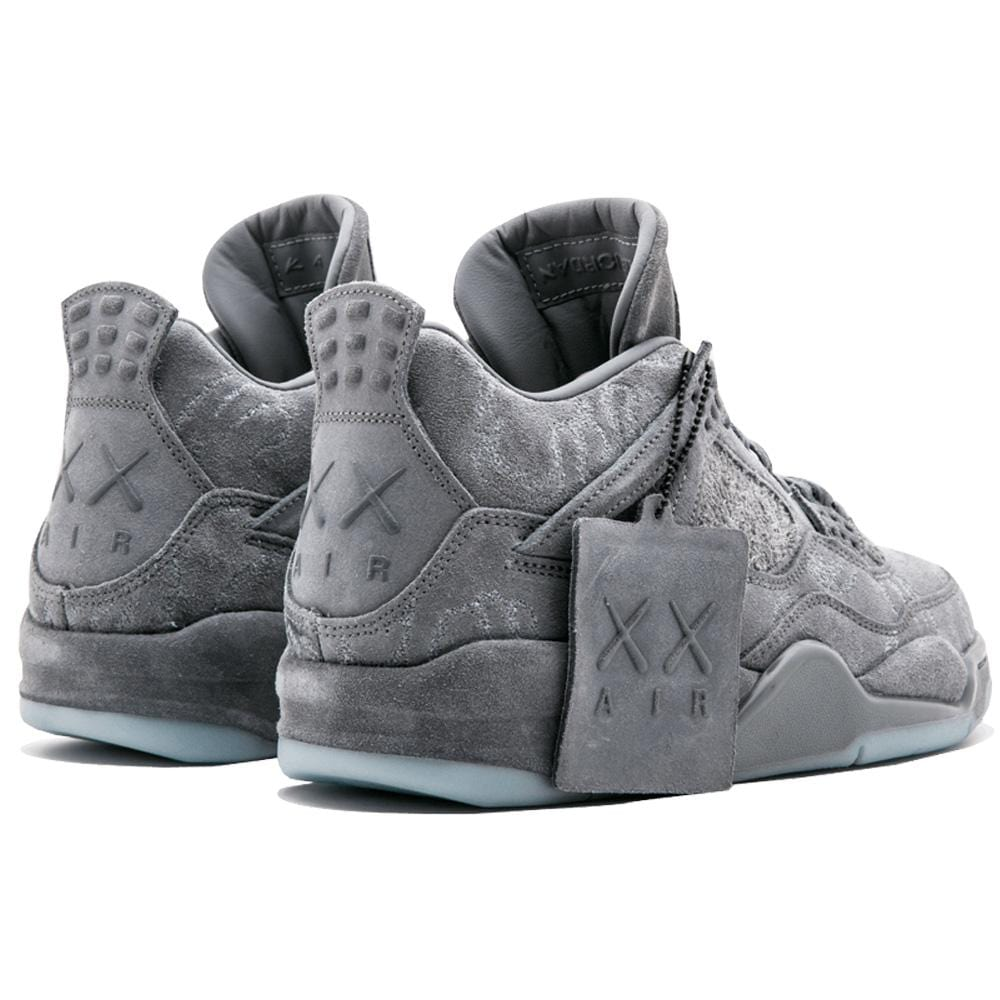 Nike x KAWS Air Jordan 4 Retro 'Cool Grey & White'