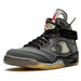 OFF-WHITE x Air Jordan 5 Retro SP 'Muslin' - Kick Game