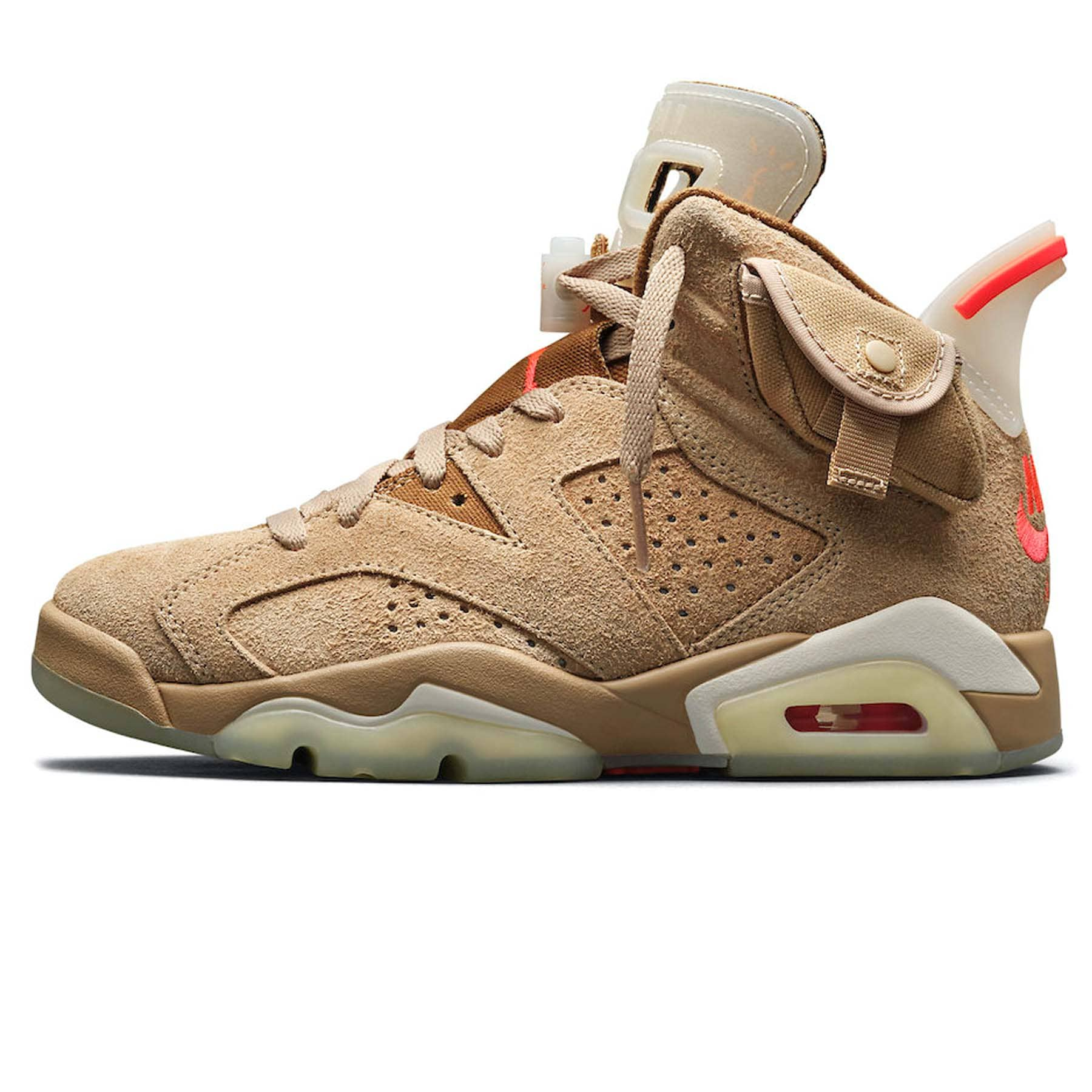 Travis Scott x Air Jordan 6 Retro 'British Khaki' - Kick Game
