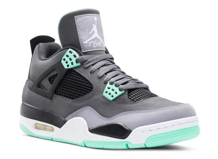 Air Jordan 4 Green Glow - Kick Game