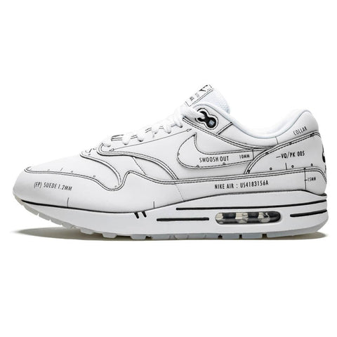 Nike Air Max 1 'Sketch Schematic - White'